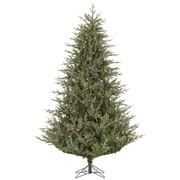 Vickerman Sutter Creek 7.5' Green Fir Artificial Christmas Tree with 600 LED Multi-Colored Lights