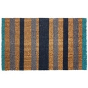 J&M Home Fashions Stripes Doormat