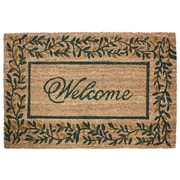 J&M Home Fashions Leaves Doormat