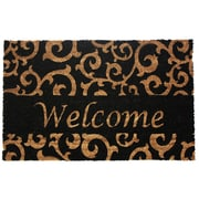 J&M Home Fashions Welcome Scroll Doormat
