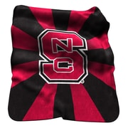 Logo Chairs NCAA NC State Raschel Throw
