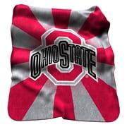 Logo Chairs NCAA Ohio State Raschel Throw