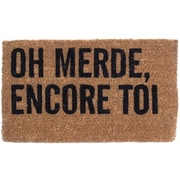 Canada Mats Oh No Not You Again French Doormat
