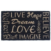 Canada Mats Words of Wisdom Doormat