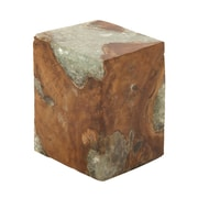 Woodland Imports Stable and Useful Ottoman