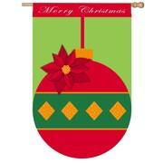 Evergreen Flag & Garden Christmas Ornament Vertical Flag