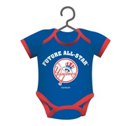 Team Sports America MLB Baby Shirt Ornament; New York Yankees
