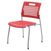 Mity Lite Adapt Armless Stacking Chair; Crimson