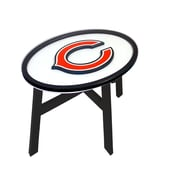 Fan Creations NFL End Table; Chicago Bears