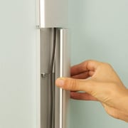 Arrowmounts Hangman High Quality Aluminum Cord Management Strip with Connector; 12''