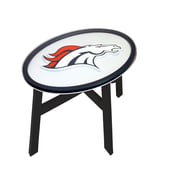 Fan Creations NFL End Table; Denver Broncos
