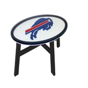 Fan Creations NFL End Table; Buffalo Bills