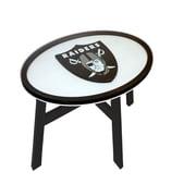 Fan Creations NFL End Table; Oakland Raiders
