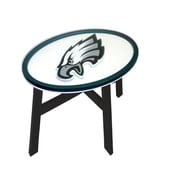 Fan Creations NFL End Table; Philadelphia Eagles