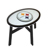 Fan Creations NFL End Table; Pittsburgh Steelers