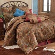 HiEnd Accents San Angelo Comforter Set; Full