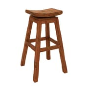 Woodland Imports Wood Stool