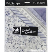 FabScraps Shabbylicious Fat Eighths, 12/Pack