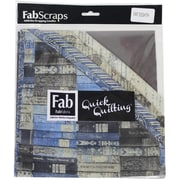 FabScraps The Gentleman's Club Fat Eighths, 12/Pack