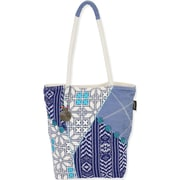Laurel Burch Catori NAV492 Cotton/Polyester Shoulder Tote, Sierra Sapphire