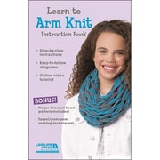 "Leisure Arts LA-47134 ""Learn To Arm Knit For Kids Kit"""