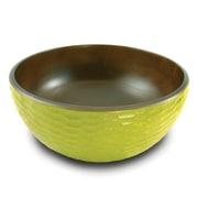Enrico Honeycomb Salad Bowl; Avocado