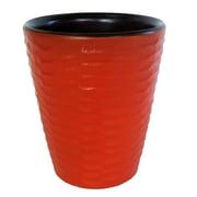 Enrico Honeycomb Utensil Vase; Tangerine