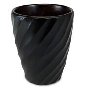 Enrico Spiral Utensil Vase; Black