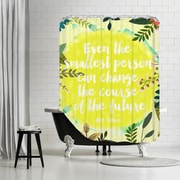 Americanflat ''Even the Smallest'' Shower Curtain