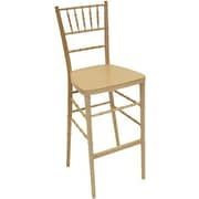 Commercial Seating Products Chiavari 30'' Bar Stool; Natural
