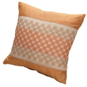 Kashi Home Rio Throw Pillow; Gold