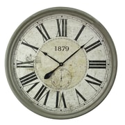 Yosemite Home Decor Oversized 31.5'' Wall Clock