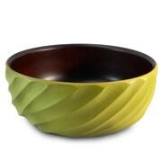 Enrico Spiral Salad Bowl; Avocado