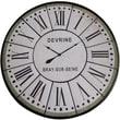 Yosemite Home Decor 48'' Oversized Wall Clock