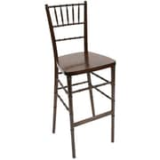 Commercial Seating Products Chiavari 30'' Bar Stool; Red Mahogany