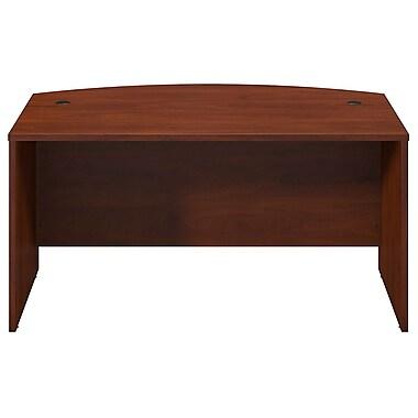 Bush® Business Westfield Elite 60W x 36D Bow Front Desk Shell, Hansen Cherry