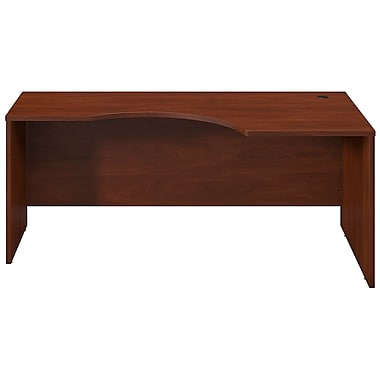 Bush® Business Westfield Elite 72W x 24 to 36D Right Corner Desk Shell, Hansen Cherry