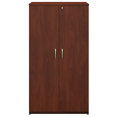 Bush® Business Westfield Elite 36W Storage Wardrobe Tower, Hansen Cherry