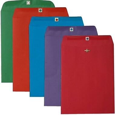 JAM Paper – Enveloppes pour catalogues, 10 x 13 po, multicolore, 50/paquet