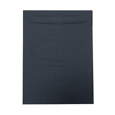 JAM Paper – Enveloppes format livret, 10 x 13 po, bleu marine, 100/paquet
