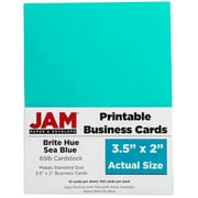 "JAM Paper® Printable Business Cards, 3 1/2"" x 2"", 500/Pack"