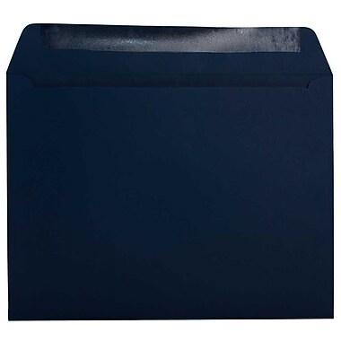 JAM Paper – Enveloppes format livret, 9,5 x 12,62 po, bleu marine, 1000/paquet