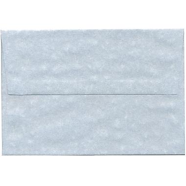JAM Paper® A8 Invitation Envelopes, 5.5 x 8.125, Parchment Blue Recycled, 250/Pack (10411H)