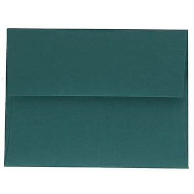 JAM PaperMD – Enveloppes A2 simples, bleu sarcelle, 250/paquet