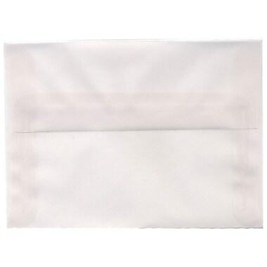 JAM Paper – Enveloppes translucides A6, incolore, 250/paquet