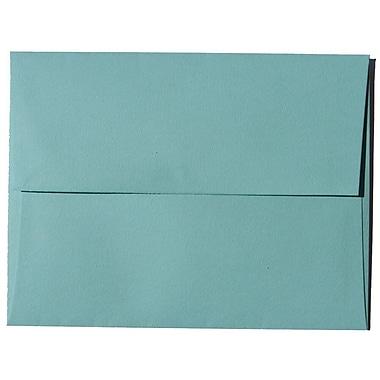 JAM PaperMD – Enveloppes Brite Hue A2 en papier recyclé, bleu aqua, 250/paquet