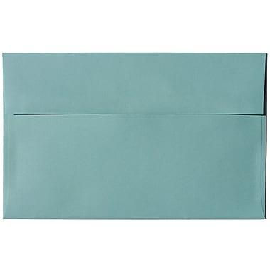 JAM Paper – Enveloppes A10 en papier recyclé, aqua, 250/paquet