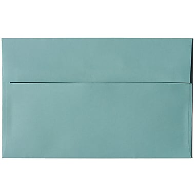 JAM Paper® A10 Invitation Envelopes, 6 x 9.5, Aqua Blue, 250/Pack (1523993H)