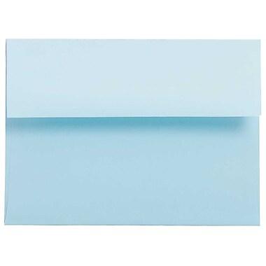 JAM Paper® A6 Invitation Envelopes, 4.75 x 6.5, Brite Hue Baby Blue, 250/Pack (155626H)