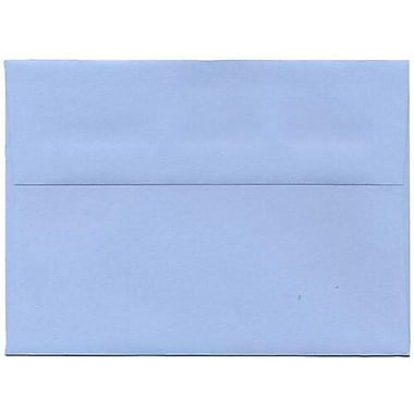 JAM Paper® A7 Invitation Envelopes, 5.25 x 7.25, Brite Hue Baby Blue Recycled, 250/Pack (155628H)